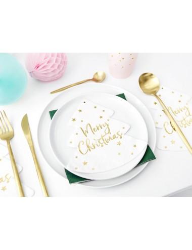 Servetten Merry Christmas (20st)