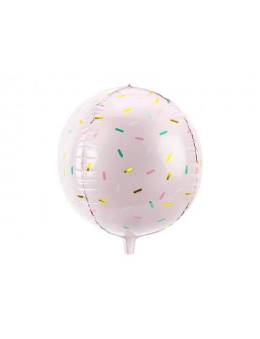Folieballon bal met spikkels