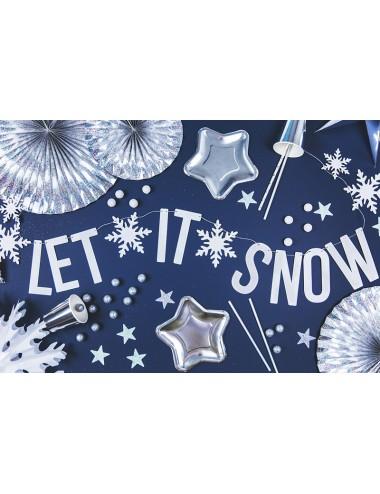 """Slinger """"Let it snow"""" wit"""