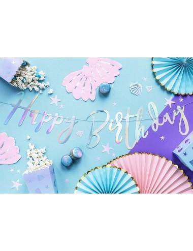 "Slinger iridescent ""Happy Birthday"""