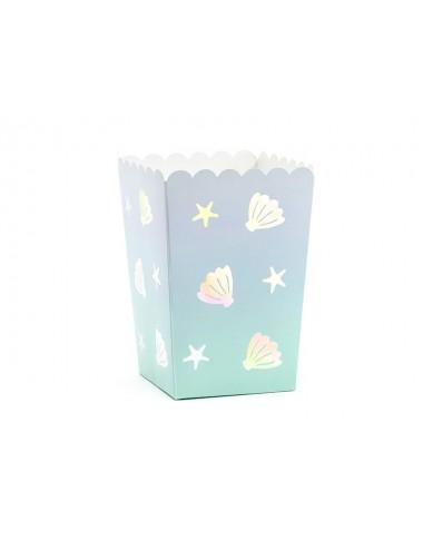 Popcorn beker narwhal (6st)