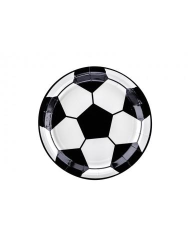 Papieren bordjes voetbal (6st)