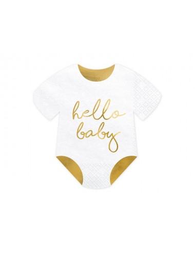 Servetten Hello Baby (20st)