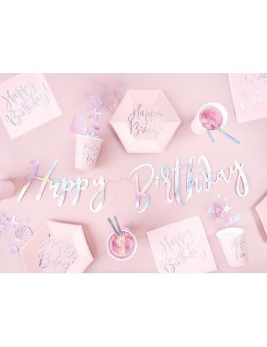 """Servetten """"Happy Birthday!""""..."""