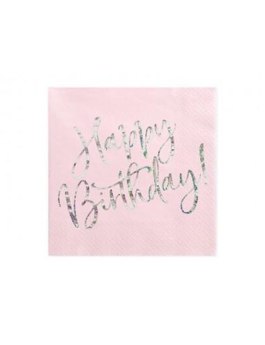 """Servetten """"Happy Birthday!"""" (20st)"""