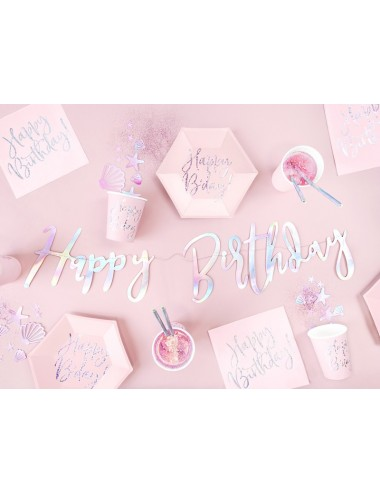 "Papieren bekertjes ""Happy B'day!"" (6st)"
