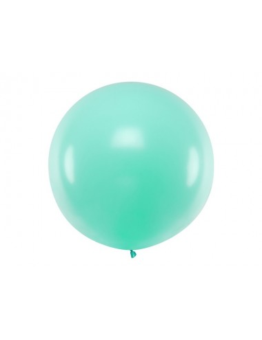 XL Ballon pastel light mint