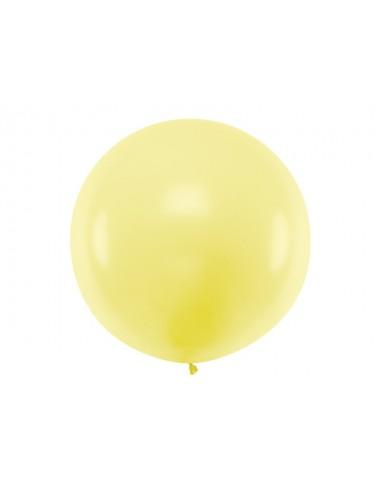 XL Ballon pastel light yellow