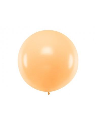 XL Ballon pastel light peach