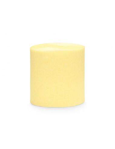 Crêpe slinger pastel geel