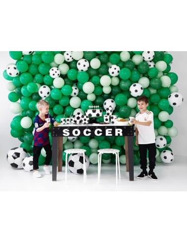 """Popcorn beker """"Voetbal"""" (6st)"""