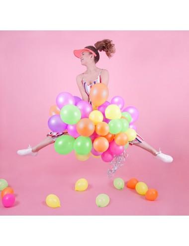 Ballonnen mix neon (5st)