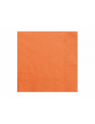 Oranje servetten (20st)