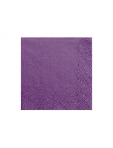 Paarse servetten (20st)