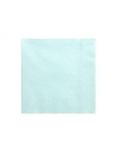 Licht Turquoise servetten (20st)