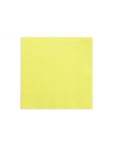 Gele servetten (20st)