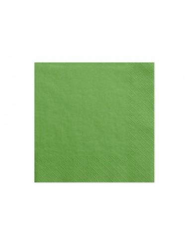 Grasgroene servetten (20st)