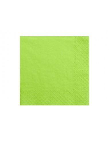 Lichtgroene servetten (20st)