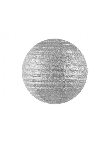 Lampion zilver