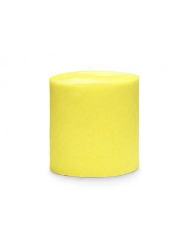 Crêpe slinger geel