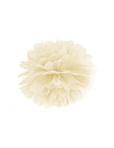 Pompom crème
