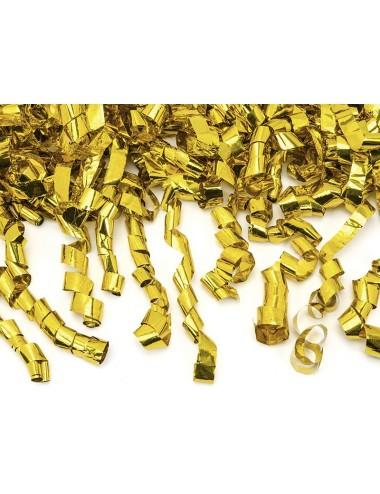 Confettikanon goud