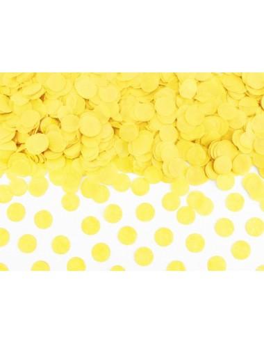 Confetti geel