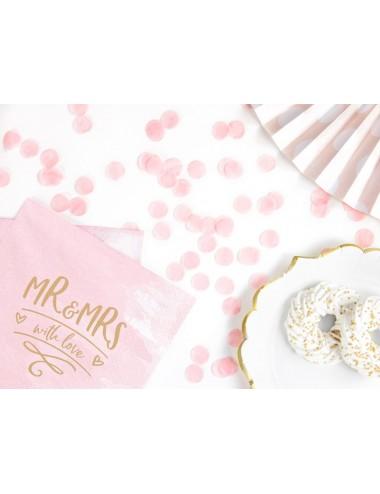 Confetti roze
