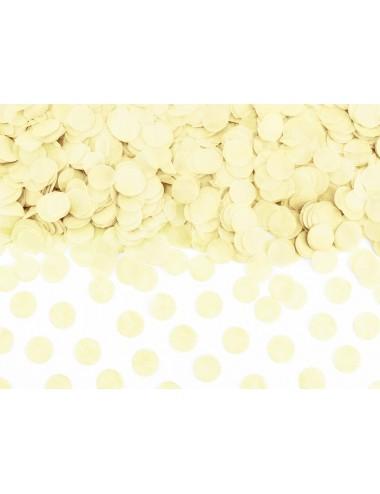 Confetti crème