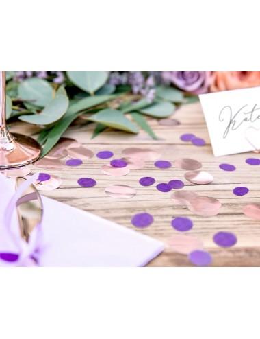 Confetti paars