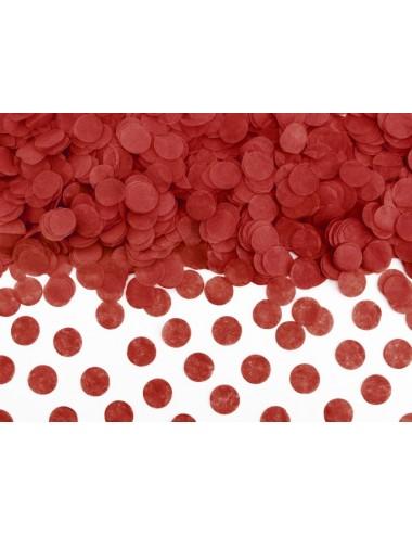 Confetti rood