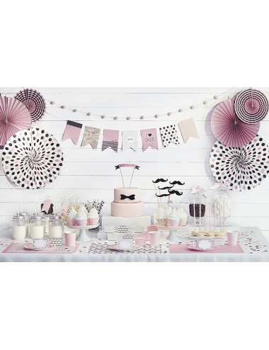 Confetti mix roze/bruin/creme