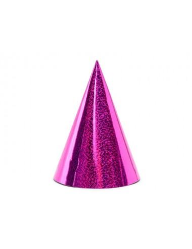 Feesthoedjes roze (6st)