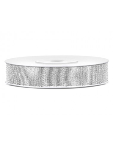 Glitterlint zilver