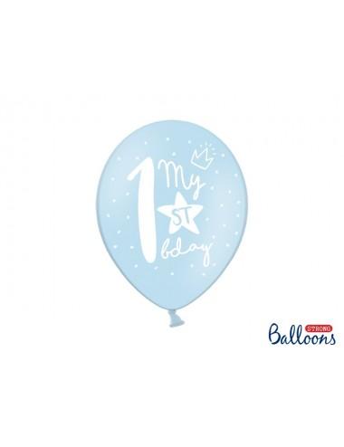 Ballonnenmix 1ste verjaardag (6st)