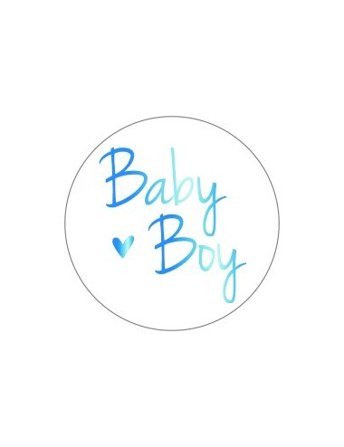 Sticker baby boy (10st.)