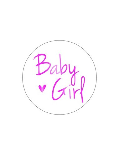 Sticker baby girl (10st.)