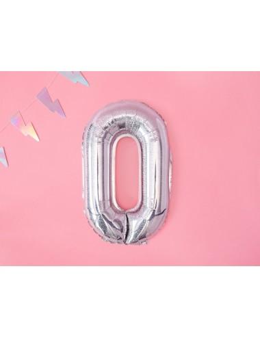 Folieballon Holografisch cijfer