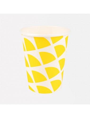 Papieren bekertjes citroen...