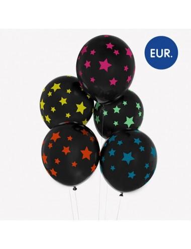 Ballonnen sterren (5st)