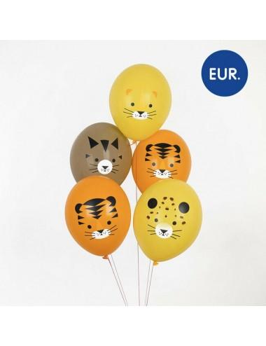 "Ballonnen ""Safari"" (5st)"