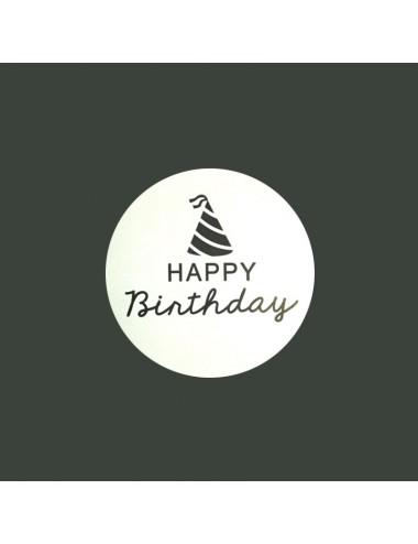 """Sticker """"Happy birthday""""..."""