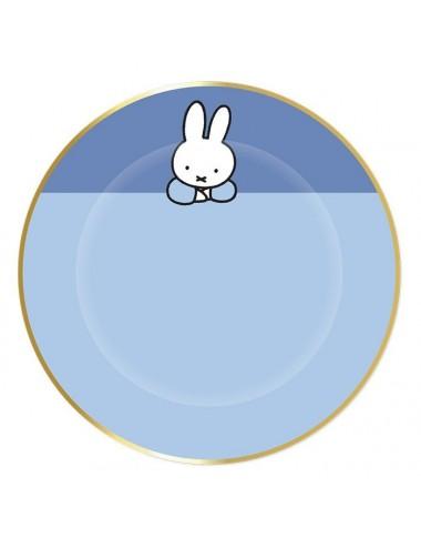 Bordjes Nijntje blauw (8st)