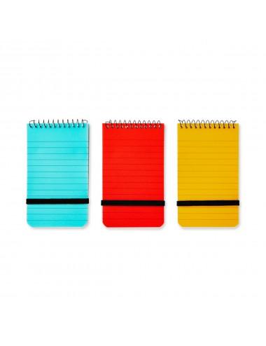 Notitieblokje (3 kleuren)