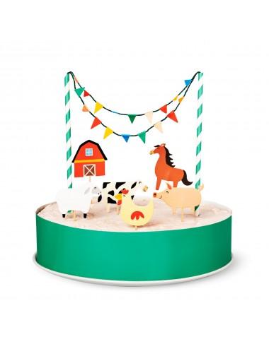 """Cake toppers """"boerderij"""""""