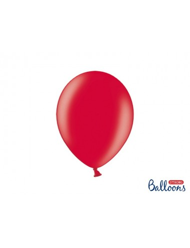 "Metallic ballonnen ""Poppy Red"""