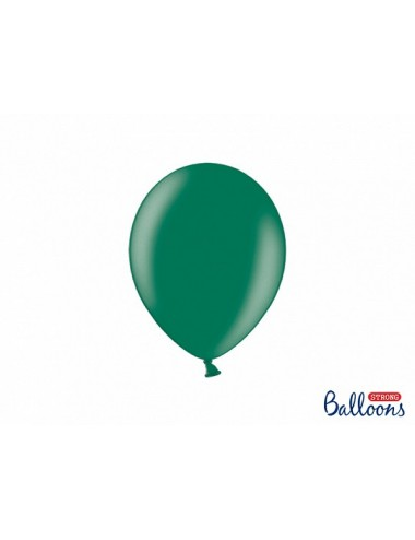 "Metallic ballonnen ""Bottle Green"""