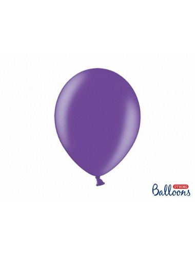 "Metallic ballonnen ""Purple"""