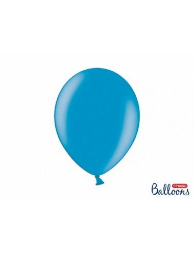 """Metallic ballonnen """"Caribbean Blue"""""""