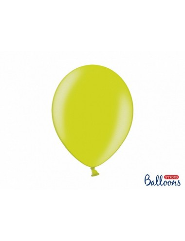"Metallic ballonnen ""Lime Green"""